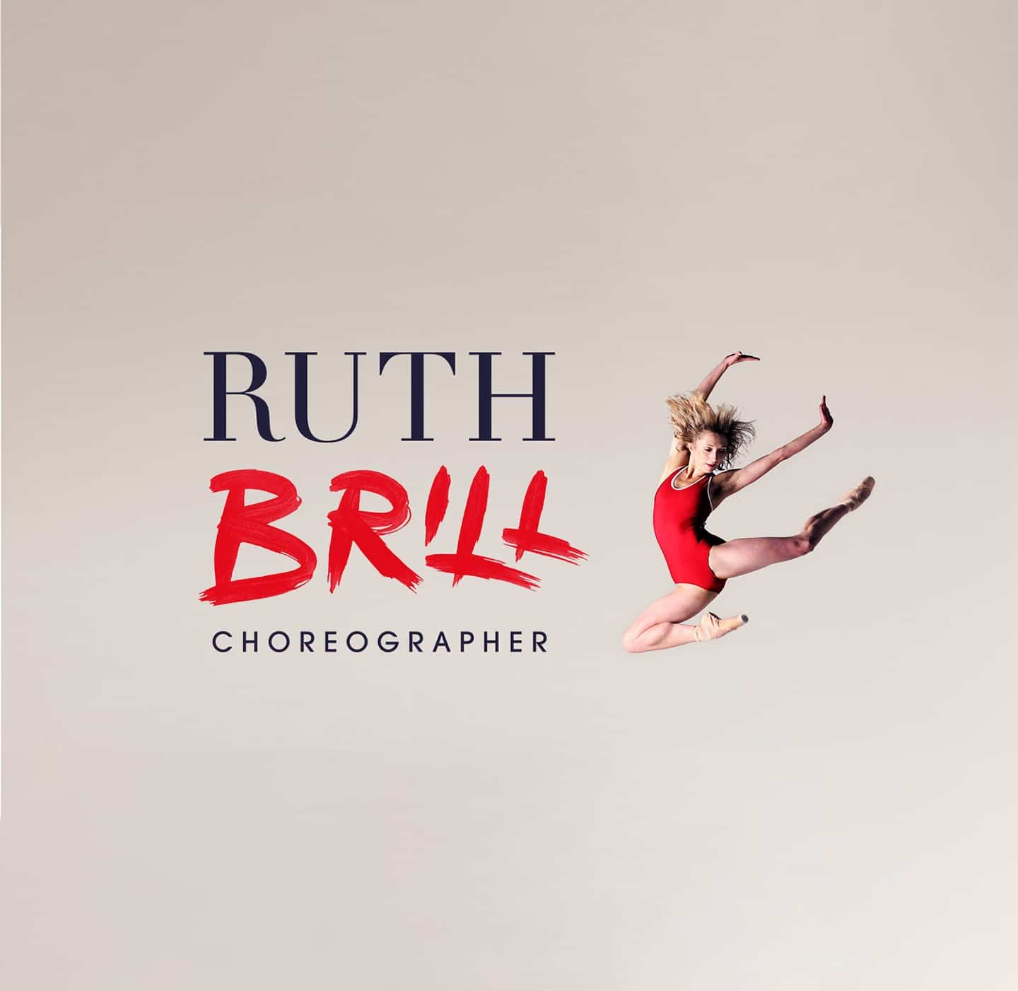 Final Logo design for Ruth Brill choreographer